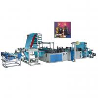 China Automatic Rope Garbage Bag Making Machine , LDPE Bag Making Machine on sale