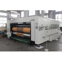 China Die-Cutter Printing Slotting Machine With Ceramic Anilox Roller wholesale