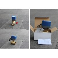 China Durable Brass Electric Motor Control Ball Valve 15-18S Running Time wholesale