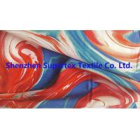 China 60GSM Viscose Rayon Fabric 75GSM Reactive Print For Garment Or Decoration wholesale