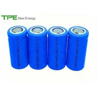 China ICR Rechargeable Lithium Cylinder Battery / 18650 Cell Battery 3.7v 600mah wholesale