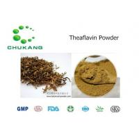 Quality Cas  4670 05 7 Plant Extract Powder Theaflavin Anti Inflammatory Absorb Heavy Metals for sale