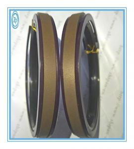 China SPGW Hydraulic Piston Seals 95 * 80 * 10.5mm Size Impact Resistance wholesale