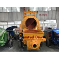 China Diesel Concrete Pump with Mixer All in One Machine on Sale wholesale
