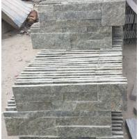 China Green Quartzite S Clad Stone Panel,Indoor S Clad Culture Stone,Outdoor S Clad 18x35 Stacked Stone wholesale