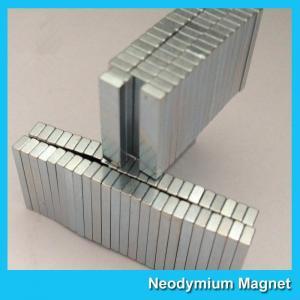 China Super Strong N35 N38 N40 N42 N45 N48 N50 N52 Neodymium Ndfeb Magnet Block Silver Coating Permanent wholesale