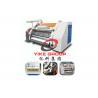 China Single Faced Corrugated Carton Machine 1400-1800mm Width Hard Chrome Material wholesale
