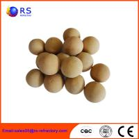 China Resistance High Temperature Refractory Products Refractory Ball For Hot Blast Furnace wholesale