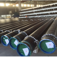 China Galvanized ASTM 3pe Coating LSAW Welded Carbon Steel Pipe wholesale