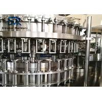 China High Speed Glass Bottle Filling Machine With Aluminum Cap Sealing System wholesale