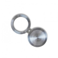 """China ASTM B564 UNS N06625 Alloy 625 1"""" Schxxs Rf Spectacle Figure 8 Blank Blind Steel Flange wholesale"""