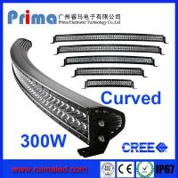 "China 51.5"" 300W Curved Led Light Bar- Double Row wholesale"