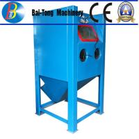China Stainless Steel Body Wet Abrasive Blasting Cabinet , Wet Sand Blasting Machine Pneumatic Pedal Switch wholesale