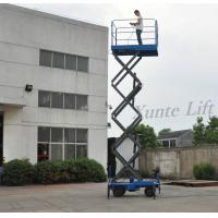 Buy cheap Smart Mobile Hydraulic Lift Platform 6m with Extension Length 1000mm for Hotel from wholesalers