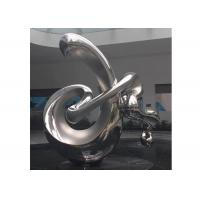 Buy cheap Large Contemporary Art Stainless Steel Abstract Sculpture Polished Finish from wholesalers