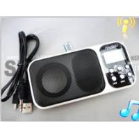 China cheap mini speaker with clock function on sale