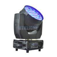 China MAC Aura 19 X 15W RGBW LED Zoom Moving Head For Stage , Events wholesale