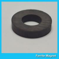 China Round Strong Permanent Ferrite Ring Magnet Speaker Y25 Y30 Y35 Grade wholesale