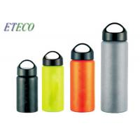China Green Stainless Steel Drink Bottles Cheaper Common Water Transfer Coated on sale