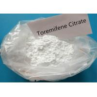 China Toremifene Citrate Anti Estrogen Steroids Powder CAS 89778-27-8 With High Purity wholesale