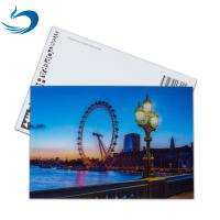 China Scenery 3D Lenticular Postcard / Promotional Gift Cards Size 11*16cm wholesale