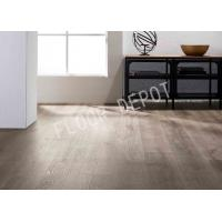 China Embossed Surface Luxury Vinyl Tile , Commercial Office Flooring 1220X180X5MM wholesale