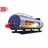 Industrial Fire Tube Gas Steam Boiler Horizontal Type For Furniture Factory
