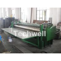 China G550Mpa 0.18mm Cold Roll Forming Machine , Glazed Tile Roll Forming Machine wholesale