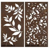 China Laser Cut Corten Steel With Pattern Design Used For Garden Sculpture Decoration wholesale
