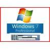 China New Sealed Microsoft Windows 7 Pro Professional 64 Bit DVD+100% Original COA License Key wholesale