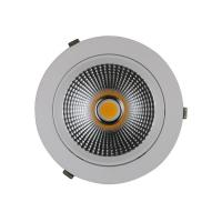 China Round Directional Recessed Led Lighting 15w Isolated Driver Diameter 110mm Shoplight wholesale