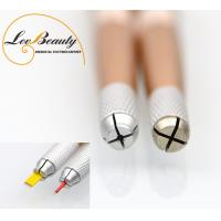 Quality 2 Head  Multifunctional Metal Handle Microblading Tools for Tattoo Embroidery for sale