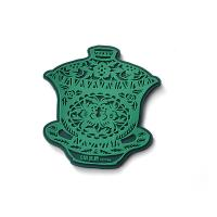 China Chinese Style Custom Rubber Drink Coasters Promotional Products Cup Shapes on sale