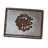 China leather elbow patches for sweaters , custom leather patches for jackets wholesale