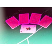 China Modiano Marked Decks for Gambling Cheat in Texas Holdem , Omaha , Baccarat wholesale