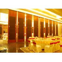 China Hanging Office  Aluminum Sliding Doors , Banquet Hall Partition Wall , Ceiling Track wholesale
