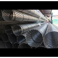 Buy cheap Industrial Perforated Stainless Steel Tube , 10000 Mm Perforated Round Tubing from wholesalers