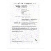 YYS Cable Limited Certifications