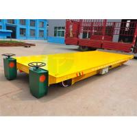 China Heavy duty material handling trolley on rails applied in construction industry wholesale