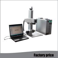 China Raycus Small Laser Etching Machine , Air Cooling Mini Laser Engraving Machine wholesale