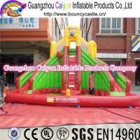 China Large Swimming Pool Slide Inflatable Water Slide wholesale