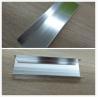 China Silver Brightness Machanically Polished Aluminum Profiles Highly Wear Resistance wholesale