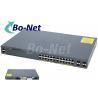 China WS C2960X 24TS L Cisco Soho Gigabit Switch , Cisco 2960x 24 Port Switch 80G wholesale