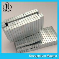 China 12000 Gauss Super Strong Neodymium Magnet Bar Shaped Anti - Corrosion wholesale