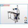 China 20W 30W 50W 100W Flying Type Fiber Laser Marking Machine with High Speed wholesale