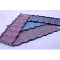 China Stone Coated Colour Steel Roof Tiles on sale