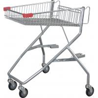 China 80L -  120L Lower Metal Basket Disabled Shopping Trolley For Wheel Chairs wholesale