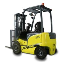 China Warehouse Lift Truck Four Wheel Electric Forklift With Curtis Controller wholesale