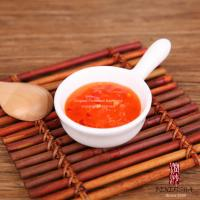 China 10g Mini Japanese Chili Seasoning Thai Sweet Chilli Sauce In Orange Red Color wholesale