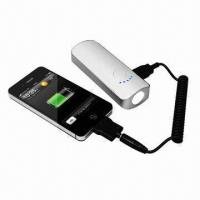 China 4,400 to 5,200mAh USB Power Bank for iPhone, Sony's PSP, MP3/MP4, Mobile Phone and Digital Device wholesale